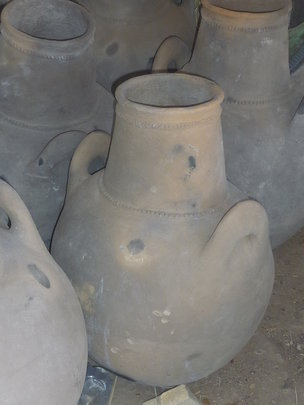 A typical clay pot