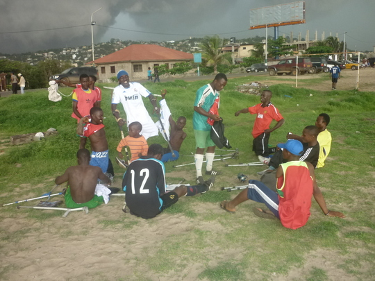 Support Amputee Soccer in Sierra Leone