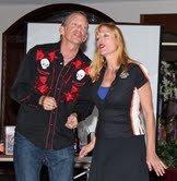 Matt Jenkins and Cynthia Frahm raise funds for DSA