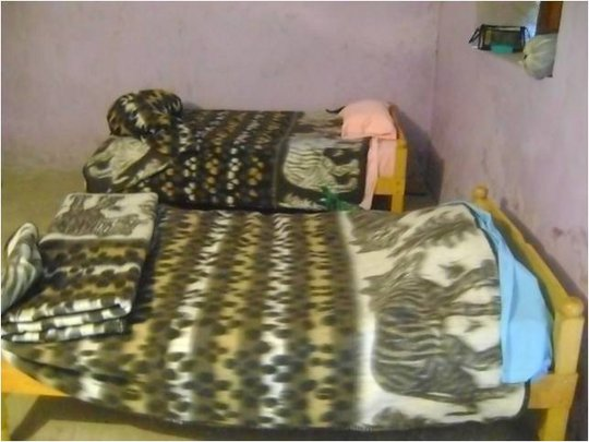 Beds in new hostel