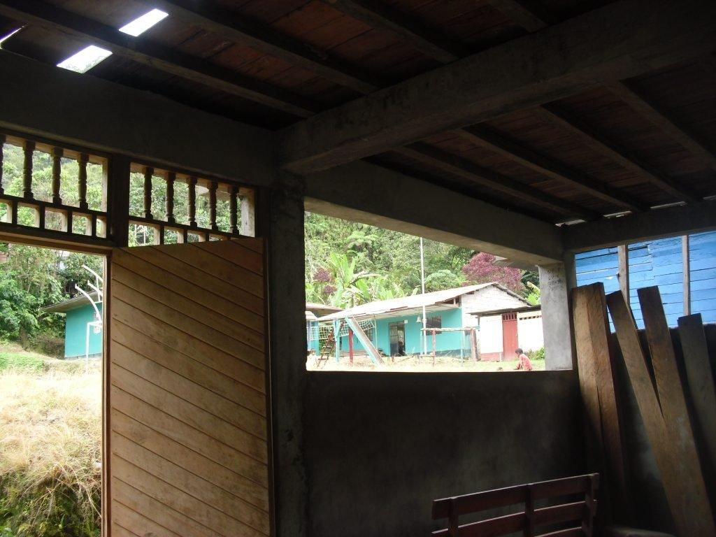Hostel inside, under construction