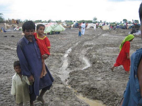 rain disturbed IDPs again