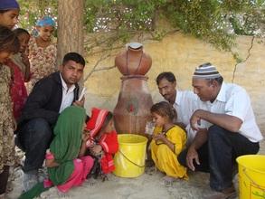 Children happy to drink Nadi filter water