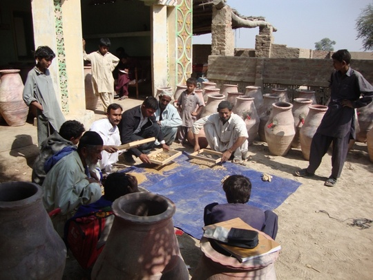 Community participation at village level