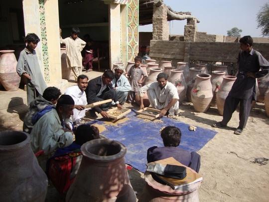 Community participation at village level