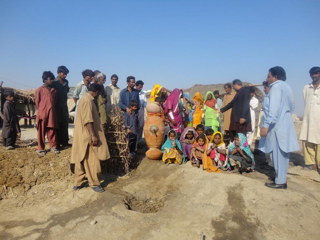 AHD staff members during visit in Matli
