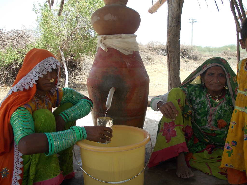 poor women access to clean drinking water