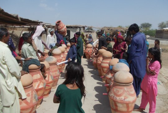 Distribution of Nadi in villages near Matli
