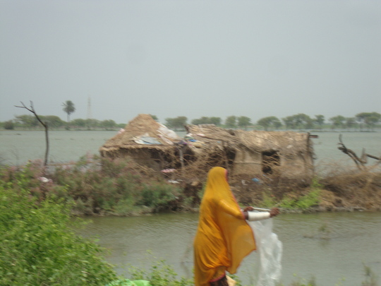 Floods hit poor families in T.M. Khan