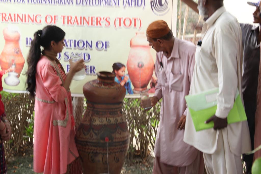 Nadi filter trainings for rural families