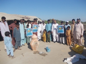 Mr. A. Khurshid Bhatti, CEO, visited in villages