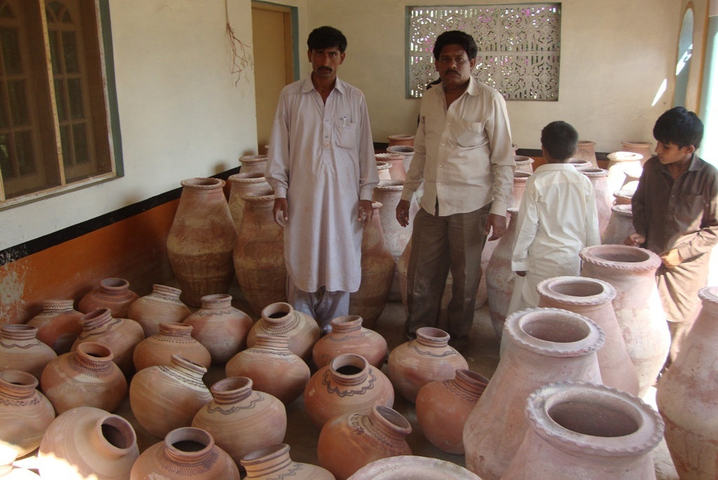 Nadi & Mattaka placed at village for distribution
