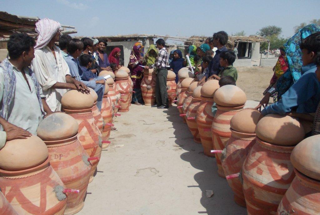 Nadi filter for rural communities