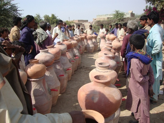 Nadi filter units been distributed in T. H. Shah