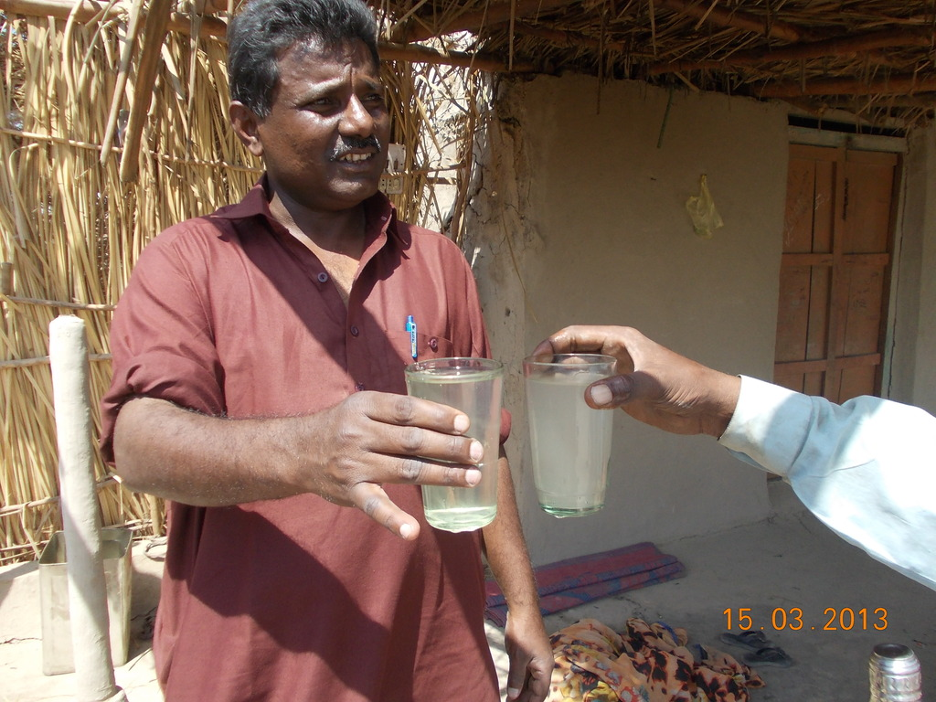 Nadi filtered water clean and safe for health