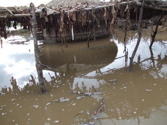 Rain water entered in villages near Matli
