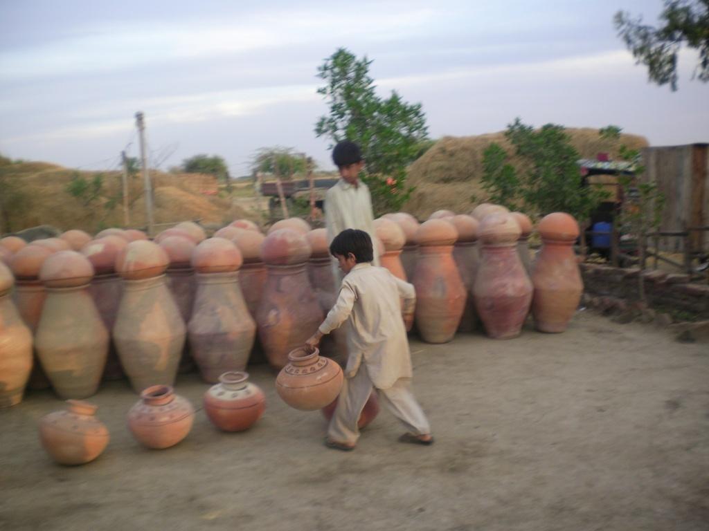 Nado stored in village for distribution