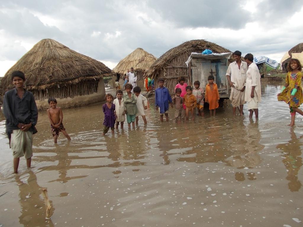 Village Shagun Kohli affected by heavey rain