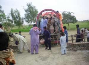 Village communities recieving Nadi units