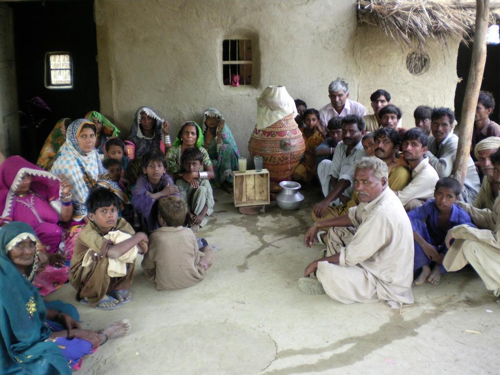 Villagers made new Nadi filter near Matli