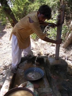 1 Washing sand for nadi filter