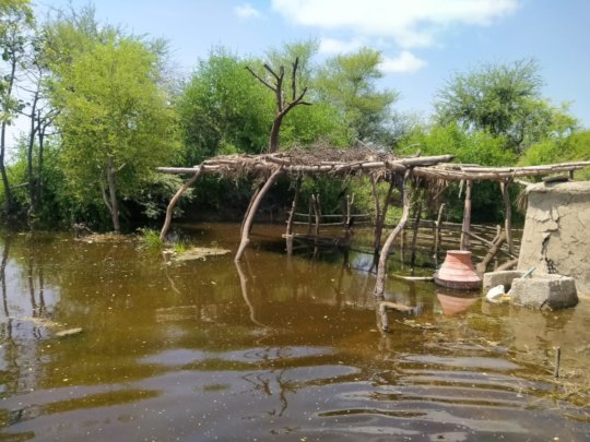 Nadi filter destroy in flood water