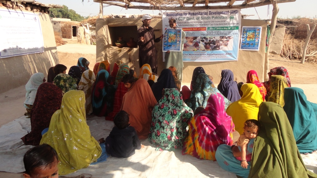 Women of the village Shaoon Patel most affected