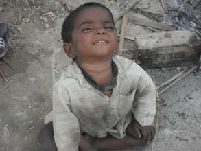 Children badly affected by floods 2011