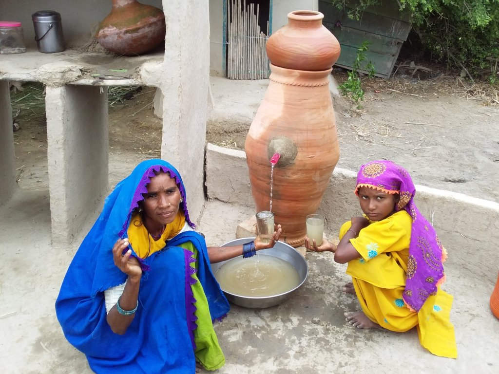 safe water drinking by Nadi  filter