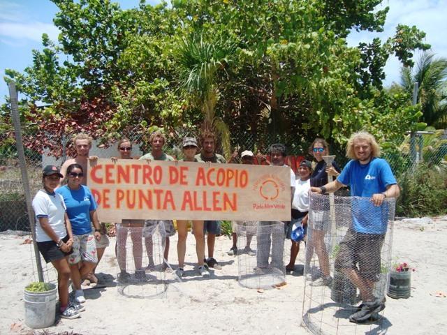 Centro de Acopio de Punta Allen
