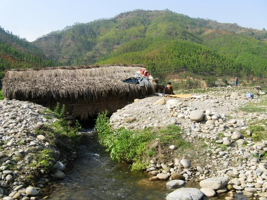 Terrain in rural Western Nepal