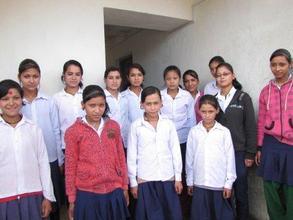 Girls at Gaurishankar Hostel