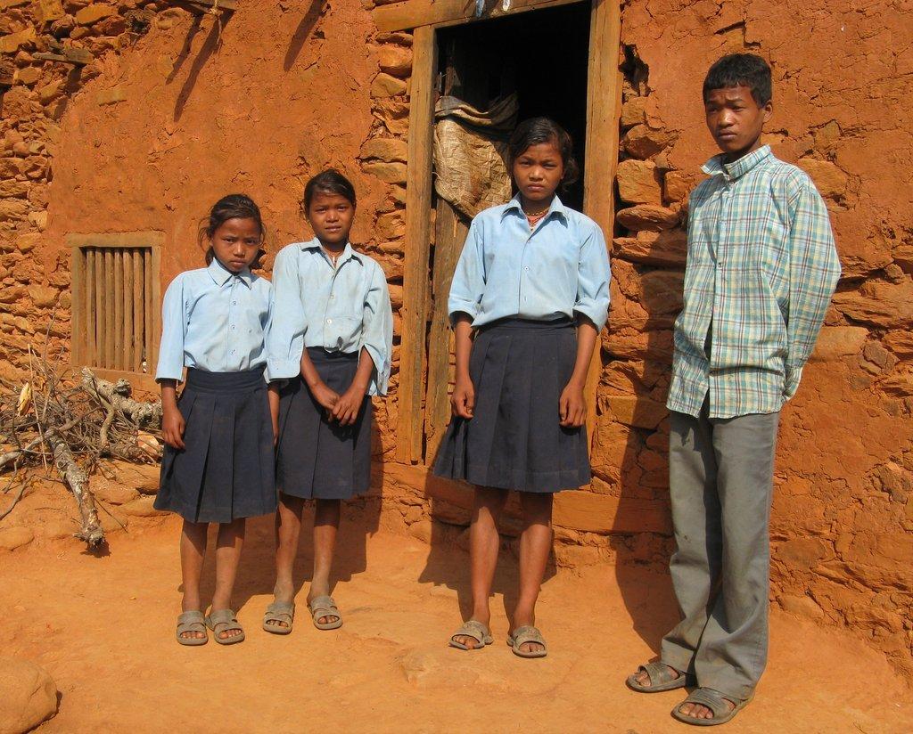 School Students in Rural Nepal