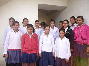 New residents of the Gaurishankar Youth Hostel