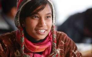 Sherpa Girl in school