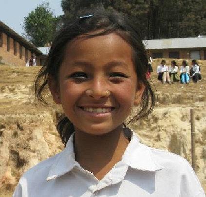 Sabita goes to school because of a NYF scholarship