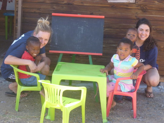 Education for underprivileged children, Cape Town