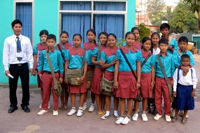 Tuition Sponsorships for 30 Cambodian Kids