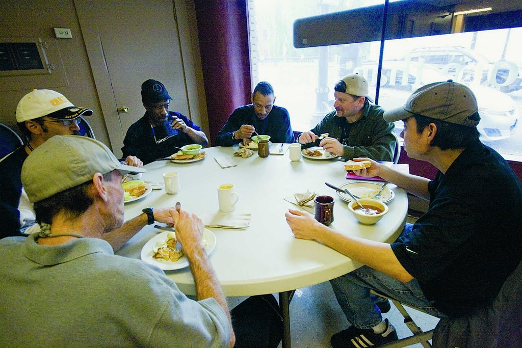 Daily Food/Shelter for Portland's Poor & Homeless