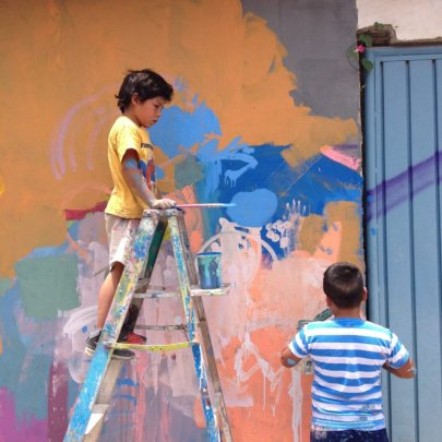 Walls are now community canvases