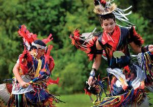 Houma Indians, Evan Solet and Trent Dardar