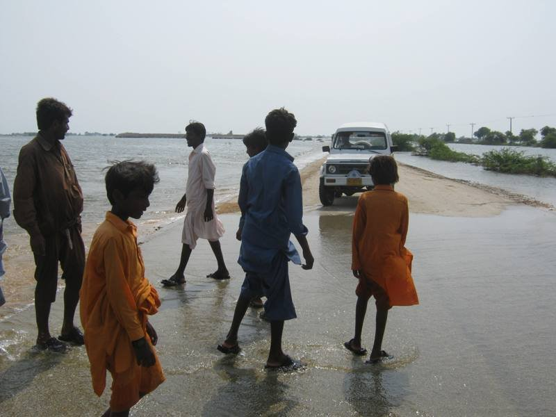 Thatta, Jati & Sujawal in Floods