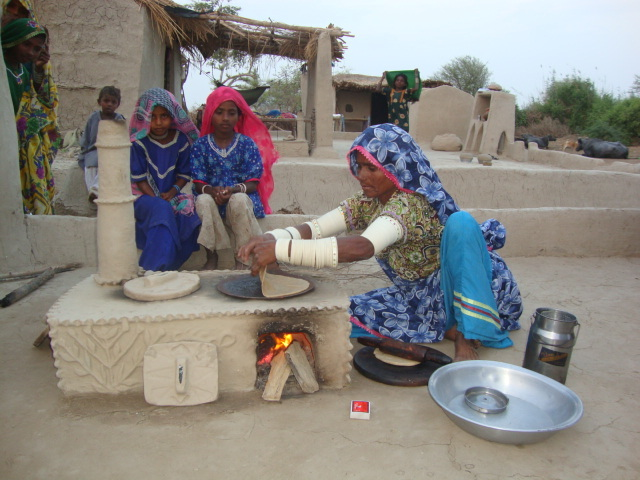 New FES Cooking stove construction in Matli area