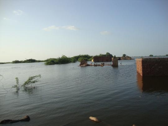 6. 480 villages submerged in flood water