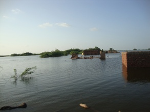 6. 480 villages submerged in flood water