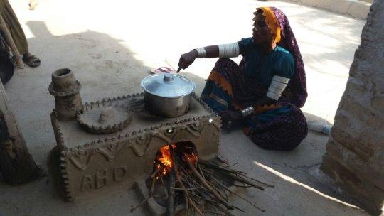 AHD Fuel Effecient Cooking stove