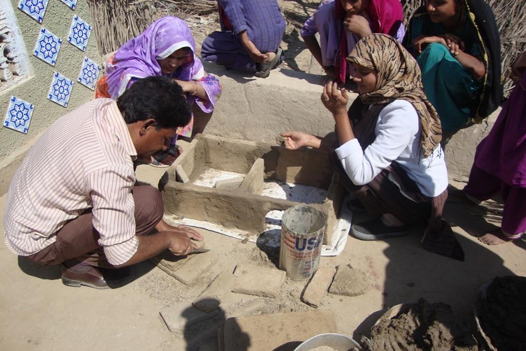 AHD training staff facilitating training among wom