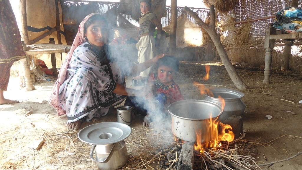 Traditional stove used before in the area