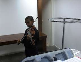 Abraham the violinist