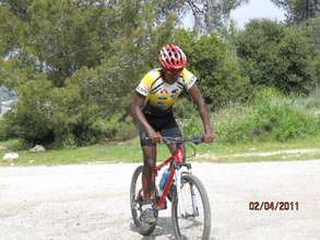 Nogus, a talented cyclist